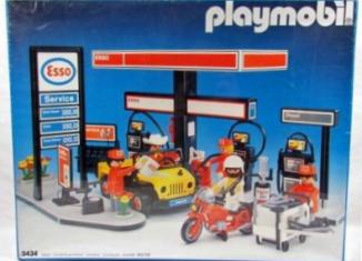 Playmobil - 3434v2 - Esso Gas Station