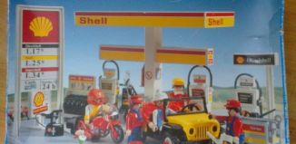 Playmobil - 3437v1 - Shell Gas Station