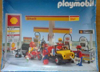Playmobil - 3437v1 - Shell Gas Station