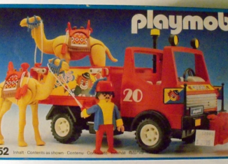 Playmobil - 3452v2 - Circus truck with camels