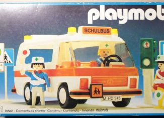 Playmobil - 3521v2 - School bus