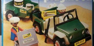 Playmobil - 3532v1 - Green jeep in the desert