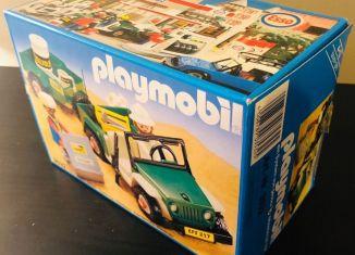 Playmobil - 3532v4 - Green jeep in the desert