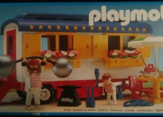 Playmobil - 3728 - Strongman's Trailer