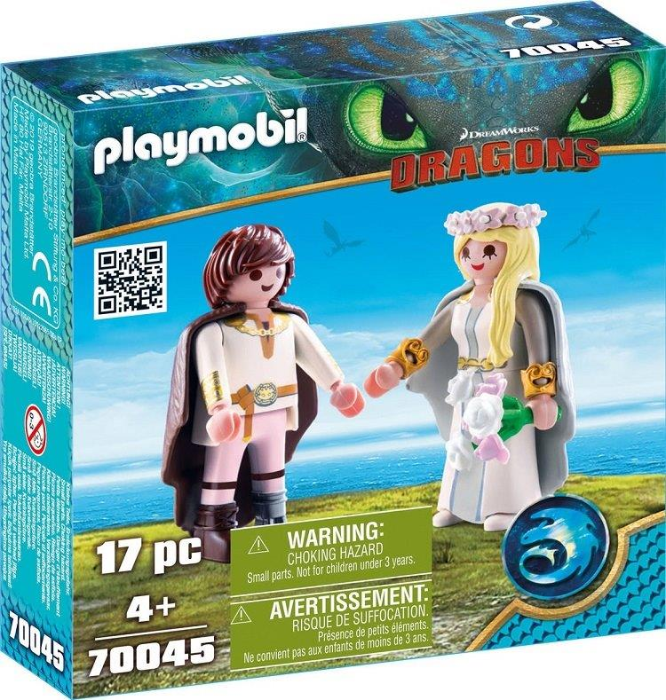 Playmobil 70045 - Astrid and Hiccup - Box