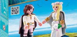 Playmobil - 70045 - Astrid e Hipo