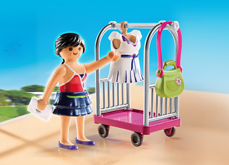 Playmobil - 4792 - model dresses cart