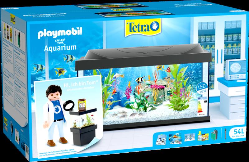 Playmobil 54L-ger - Tom (Ichthyologist scientist) - Boîte