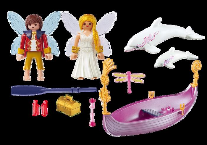 Playmobil 70000 - Romantic Fairy Boat - Back