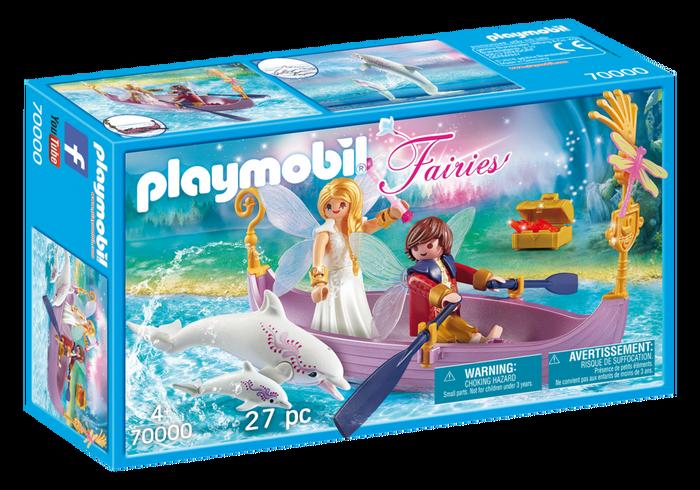 Playmobil 70000 - Romantic Fairy Boat - Box