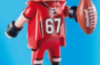 Playmobil - 70025v1 - American Football player