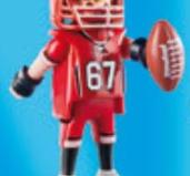 Playmobil - 70025v1 - American Football player