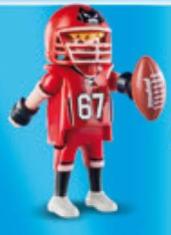 Playmobil - 70025-01 - Football player