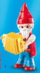 Playmobil - 70025v7 - Gnome with Accordion