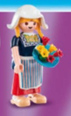 Playmobil - 70026v6 - Dutch girl
