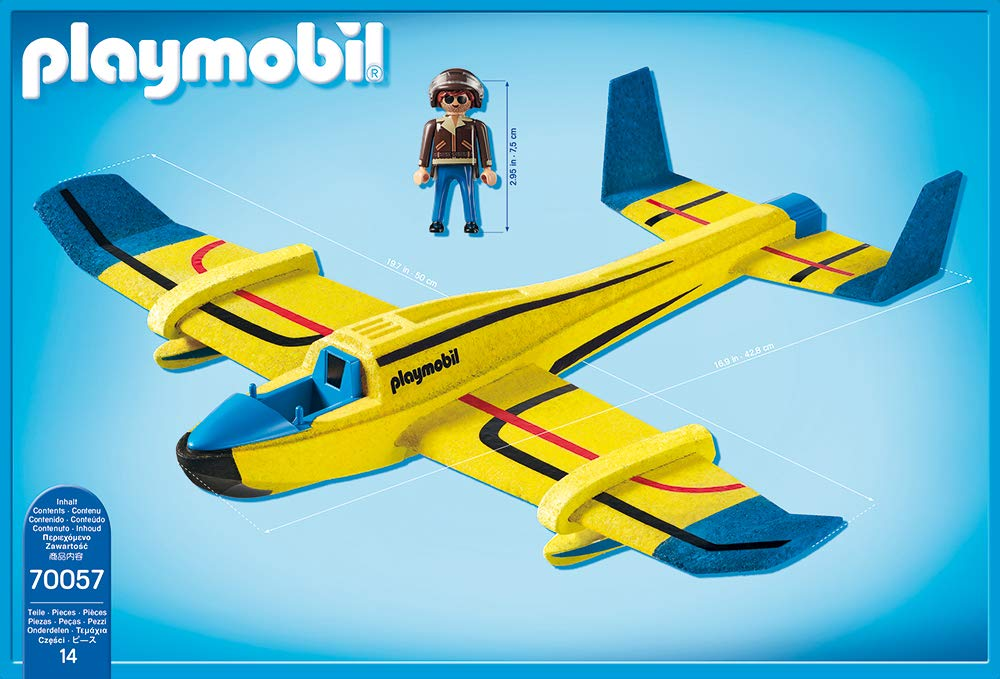 Playmobil 70057 - Water Plane Gliders - Back