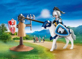Playmobil - 70106-usa - Knights Jousting