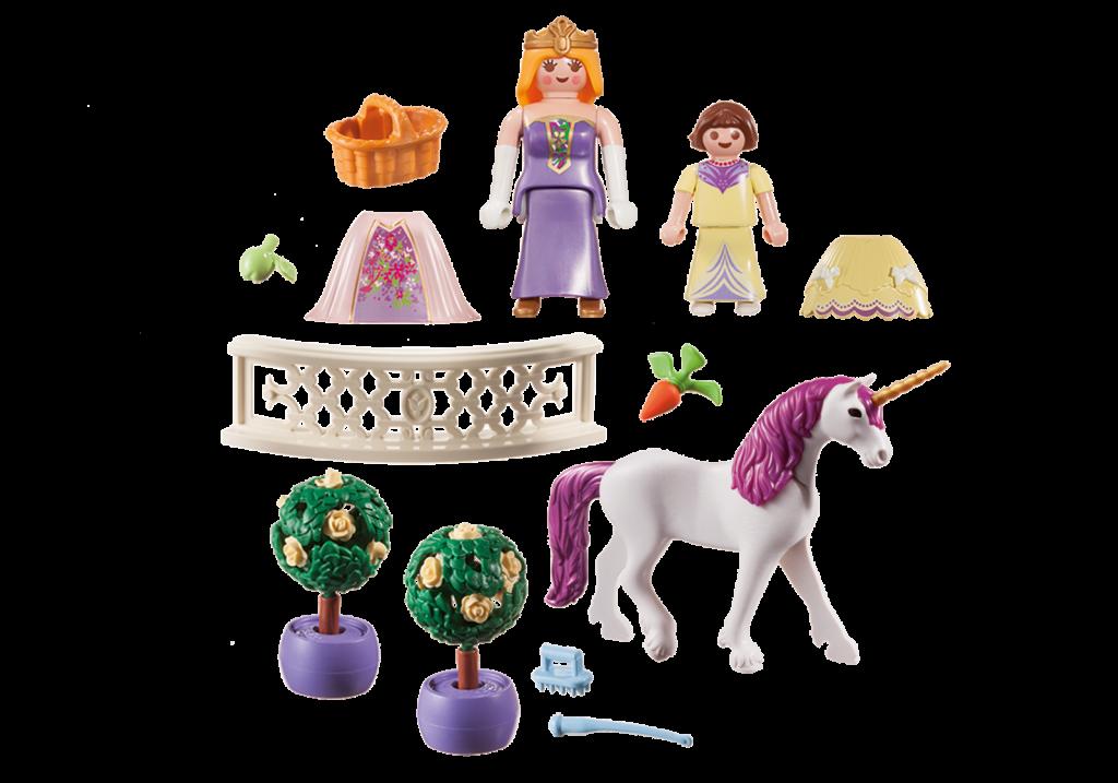 Playmobil 70107-usa - Princess Unicorn - Back