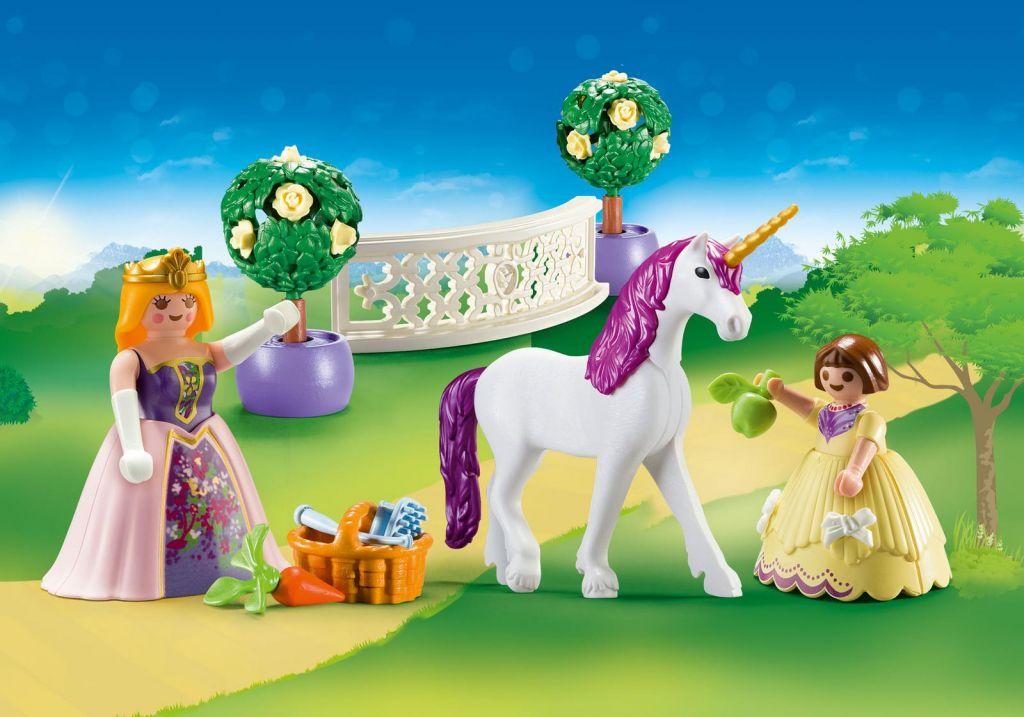 playmobil set 70107 usa princess unicorn klickypedia