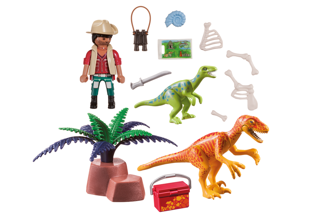 Playmobil 70108-usa - Dino Explorer - Back