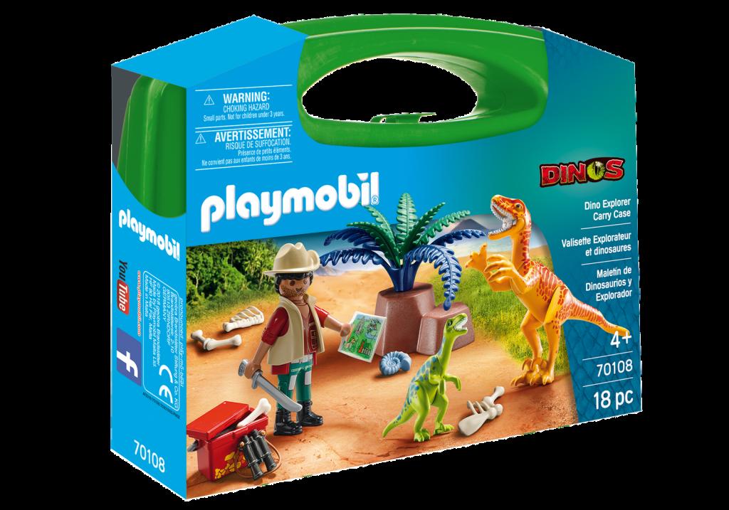Playmobil 70108-usa - Dino Explorer - Box