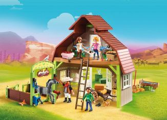 Playmobil - 70118 - Hutch with Lucky, PRU and Abigail