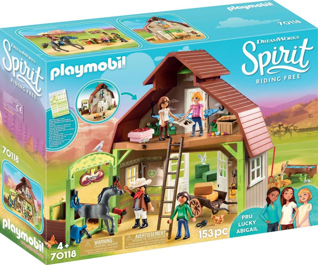 Playmobil 70118 - Hutch with Lucky, PRU and Abigail - Box