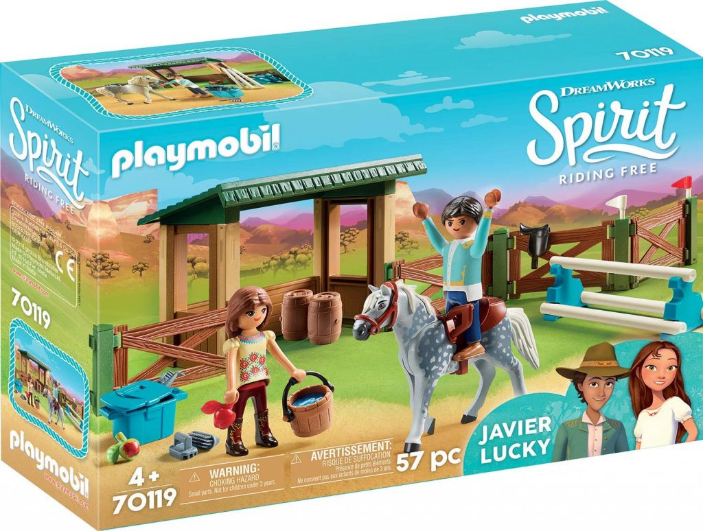 Playmobil 70119 - Horse Riding with Lucky and Javier - Box