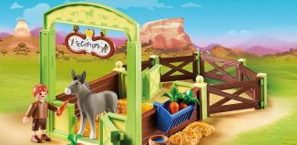 Playmobil - 70120 - Horse Box Snips and Mr Carrot