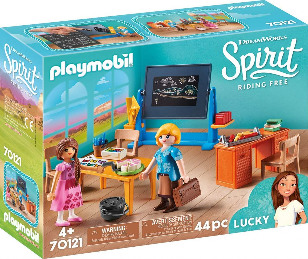 Playmobil 70121 - Miss Flores' School Room - Box