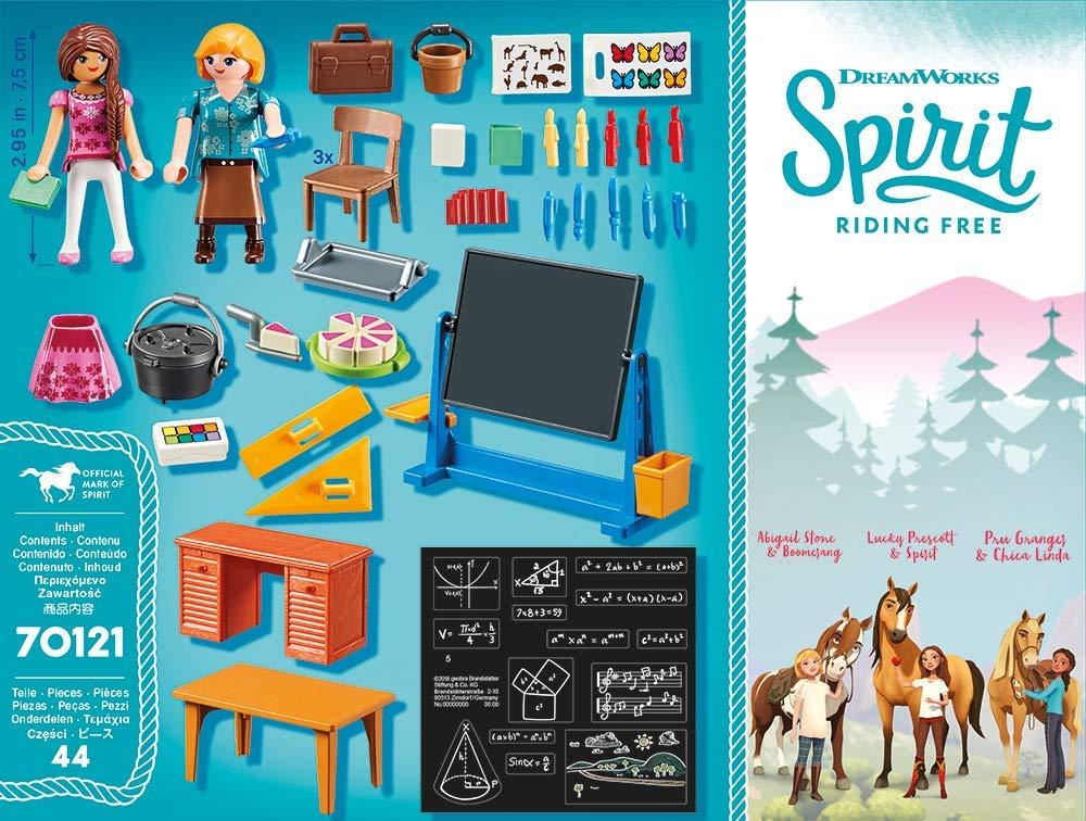 Playmobil 70121 - Miss Flores' School Room - Back