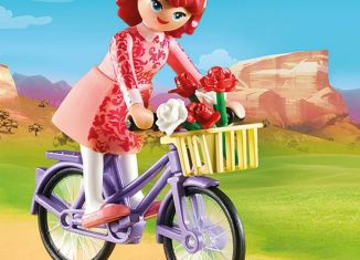 Playmobil - 70124 - Maricela with Bicycle