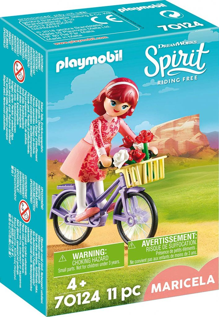 Playmobil 70124 - Maricela with Bicycle - Box
