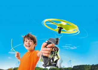 Playmobil - 70055 - Top Agents Pull String Flyer
