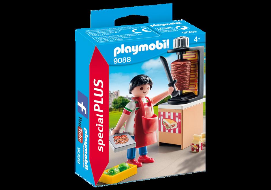 Playmobil 9088 - Puesto Kebap - Caja