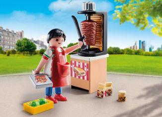 Playmobil - 9088 - Vendeur de kebab