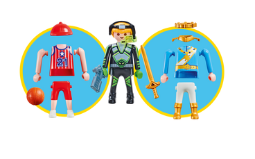Playmobil 9828 - Multi-Set Boys - Back