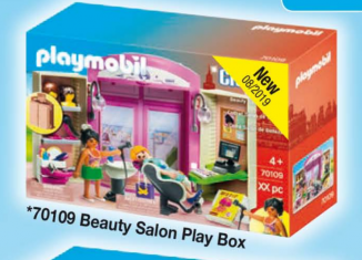 Playmobil - 70109 - Beauty Salon Play Box