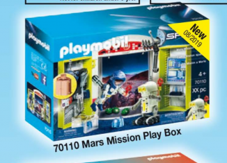 Playmobil - 70110 - Mars Mission Play Box