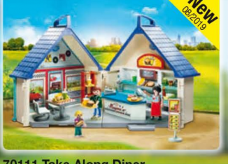 Playmobil - 70111 - Take Along Diner