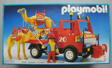 Playmobil 3452v1 - Circus Truck With Camel - Box