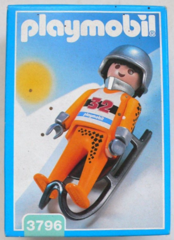 Playmobil 3796 - Luge Racer - Box