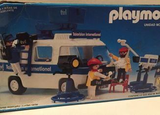 Playmobil - 13468-aur - UNIDAD MOVIL DE T.V.
