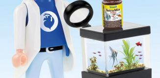 Playmobil - 54L-ger - Tom (Ichthyologist scientist)