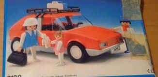 Playmobil - 3139v2-esp - Red Family Car