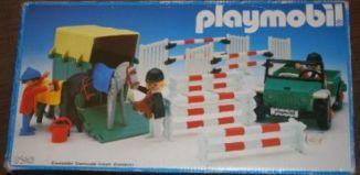 Playmobil - 3140-esp - Jeep & van à chevaux