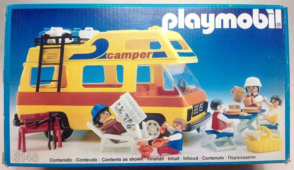 Playmobil 3148v4-esp - Camper - Box