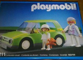 Playmobil - 3211-esp - Light Green City Car