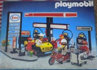 Playmobil - 3434v2-esp - Esso Gas Station