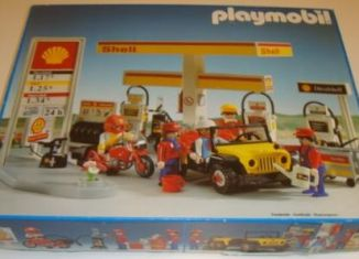 Playmobil - 3437v1-esp - Shell Gas Station